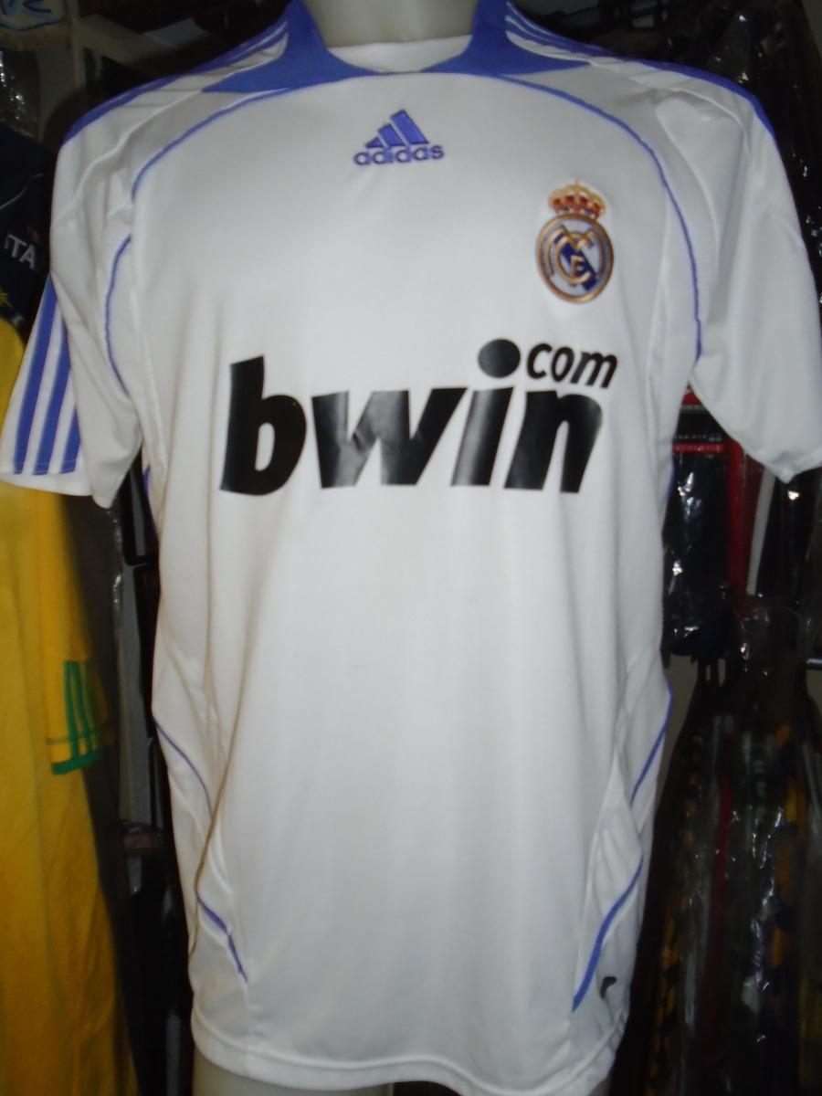 9e2523347952e camiseta real madrid españa 2007 2008 gago  8 boca argentina. Cargando zoom.