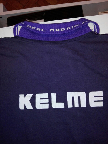 camiseta real madrid kelme entrenamiento  talle xl