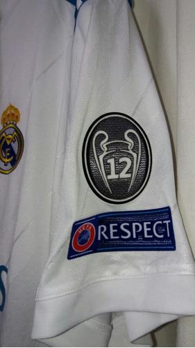 Camiseta Real Madrid Local 2017-2018 -   25.000 en Mercado Libre a849b14a186dd