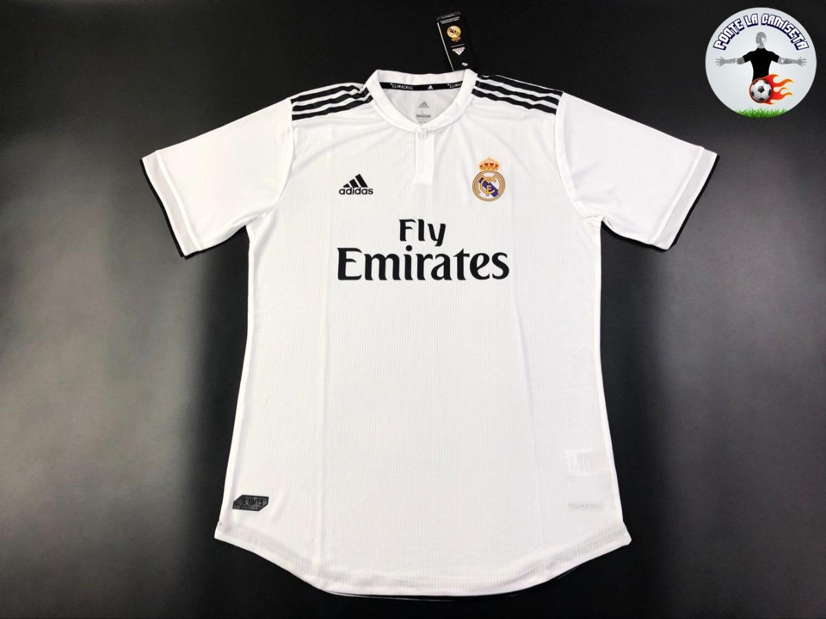 camiseta real madrid local 2018 19 - versión jugador. Cargando zoom. a5258e11407e0