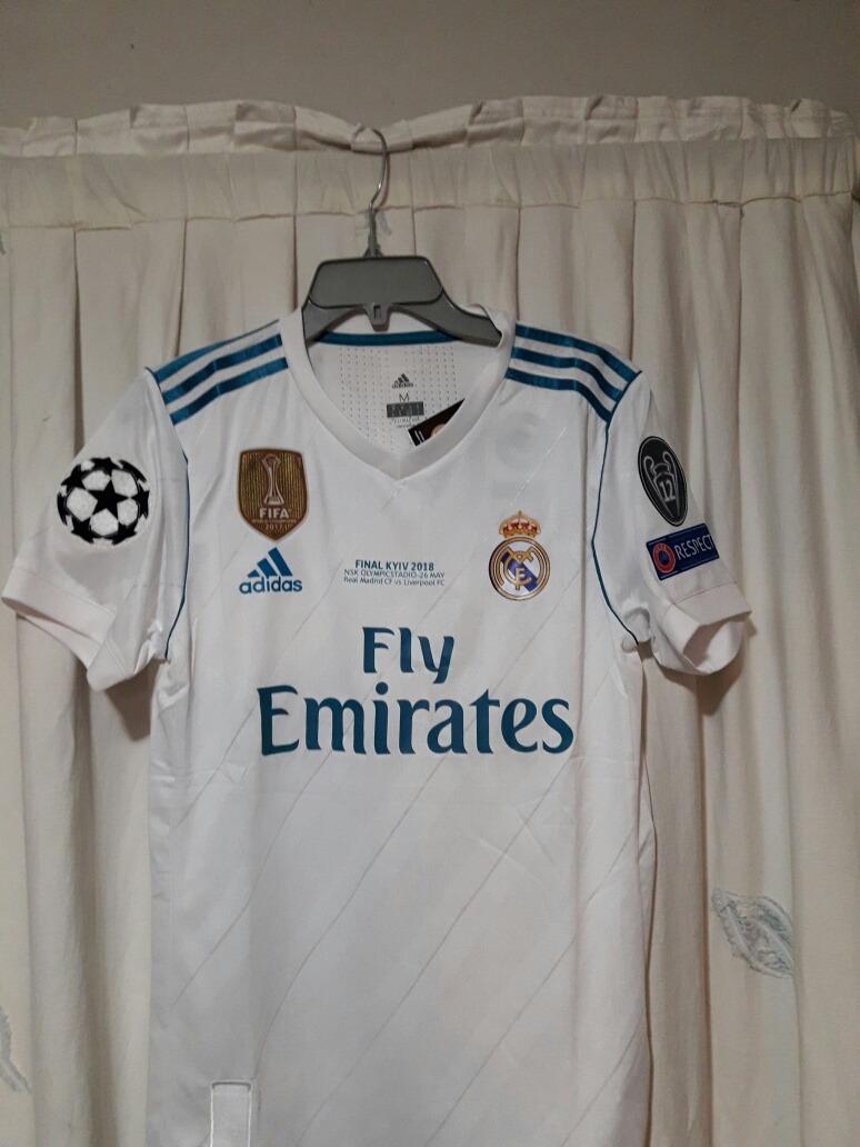 Camiseta Real Madrid Local Ronaldo 17-18 -   22.000 en Mercado Libre 0cefe6c94bb12