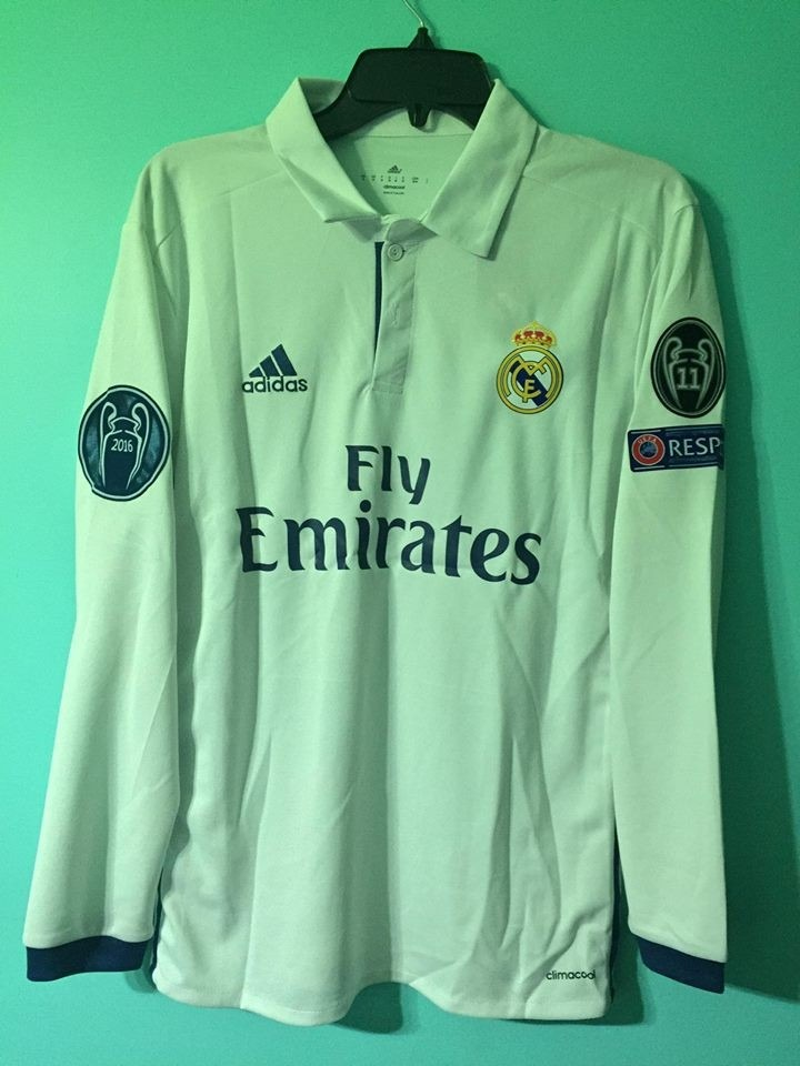 camiseta real madrid manga larga 71b3afb17949b