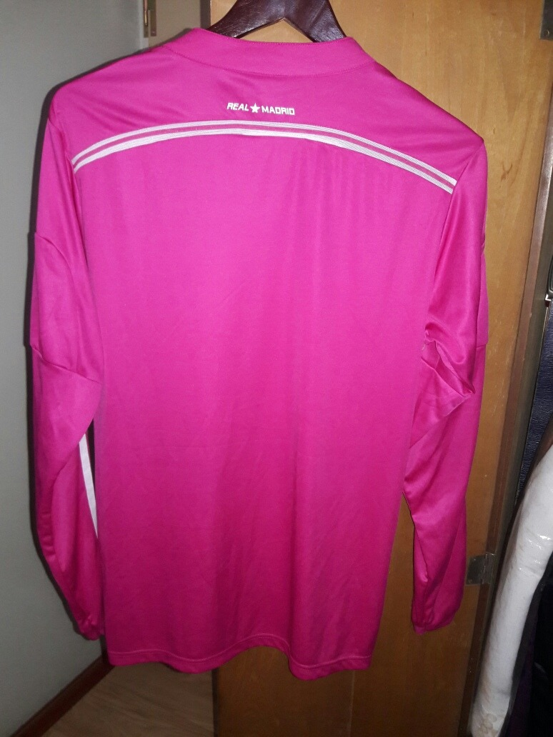 5e2c25342f10c camiseta real madrid manga larga rosa. Cargando zoom.