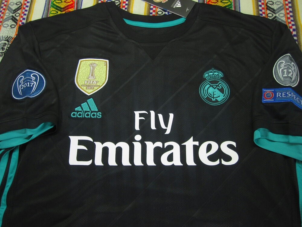 camiseta real madrid negra 2017-2018. Cargando zoom. 1beea6db4a26a