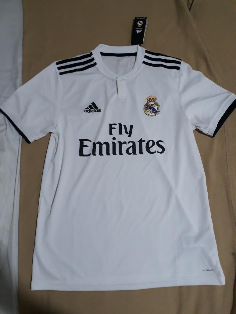 Camiseta Real Madrid Original Local 2018-2019 Talla M -   90.000 en ... 9e8b6a0569312