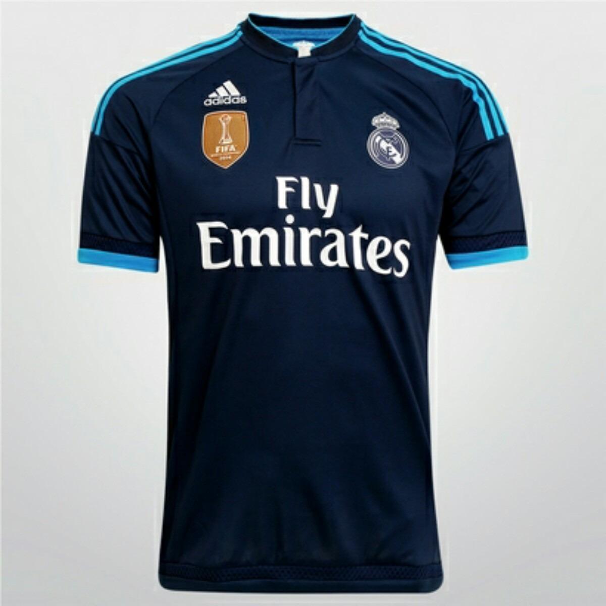 f321e94f429e4 camiseta real madrid suplente azul temporada 2015. Cargando zoom.