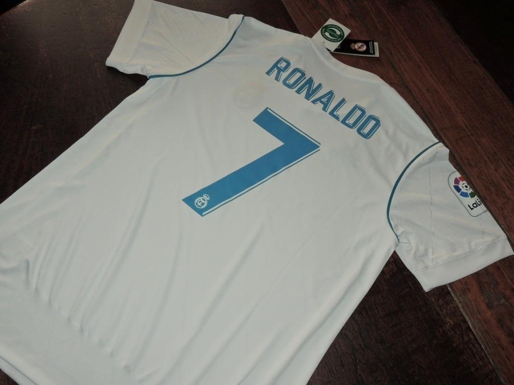camiseta real madrid temp. 2017 2018 - 7 cristiano ronaldo. Cargando zoom. 855cab56e7619