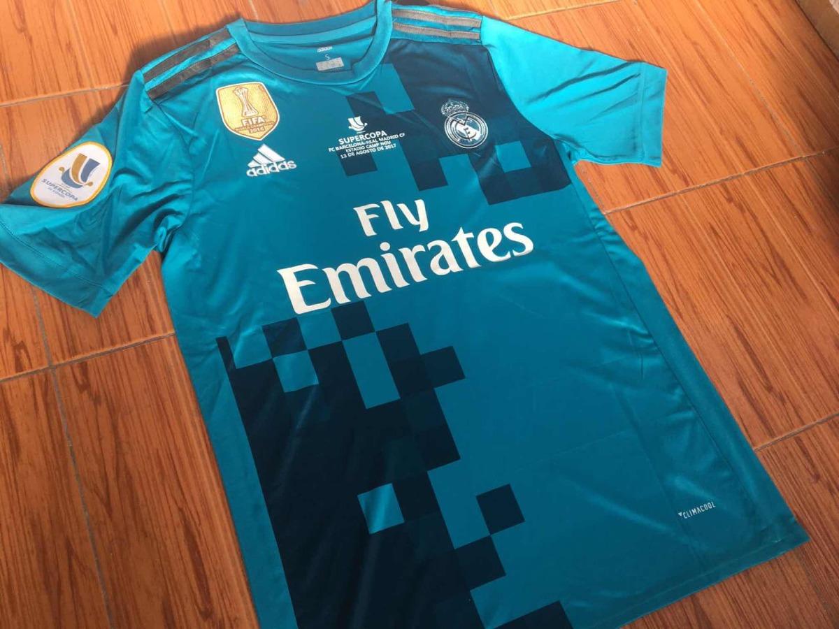 78787ab6ee5d6 Camiseta real madrid tercera de ronaldo cargando zoom azul camiseta de  ronaldo real madrid jpg 1200x900