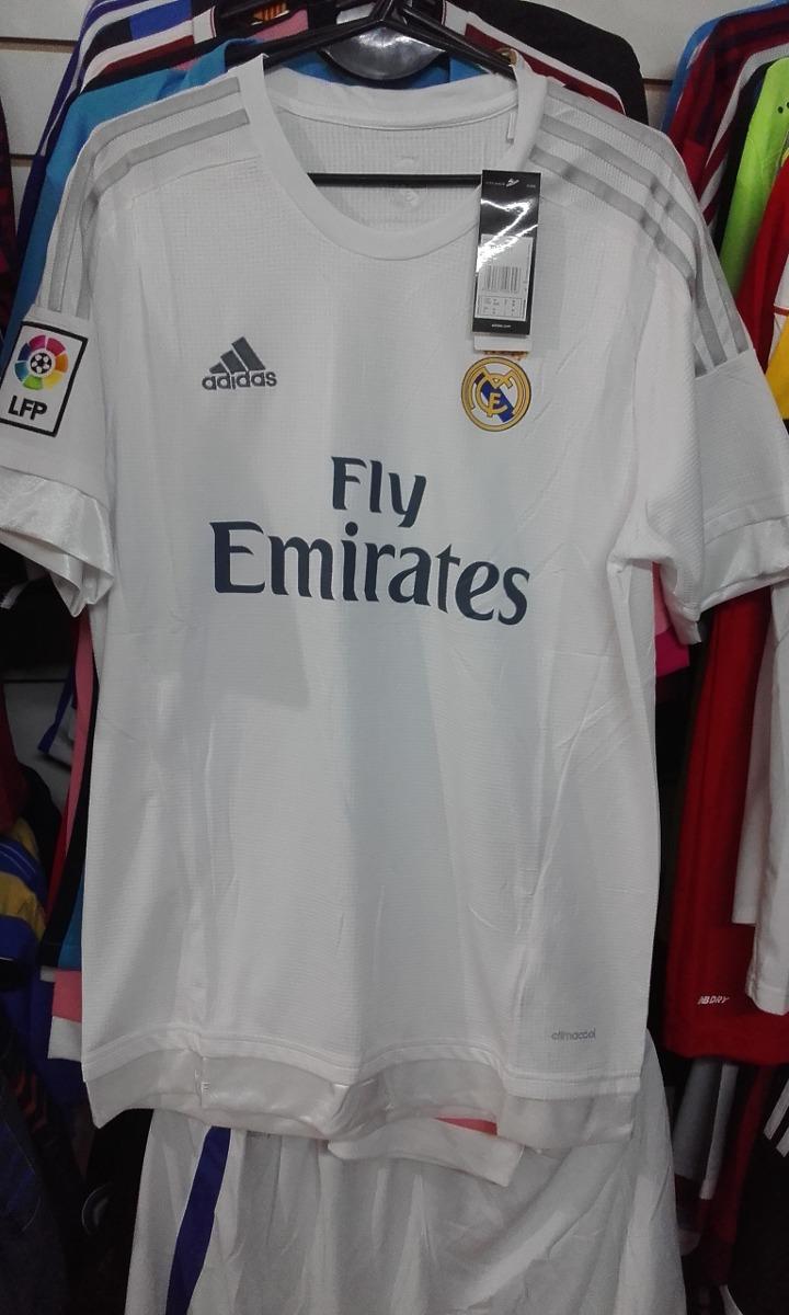 Camiseta Real Madrid Titular 2015  2016 100% Original Promo -   399 ... cd8d72ed9e2ea