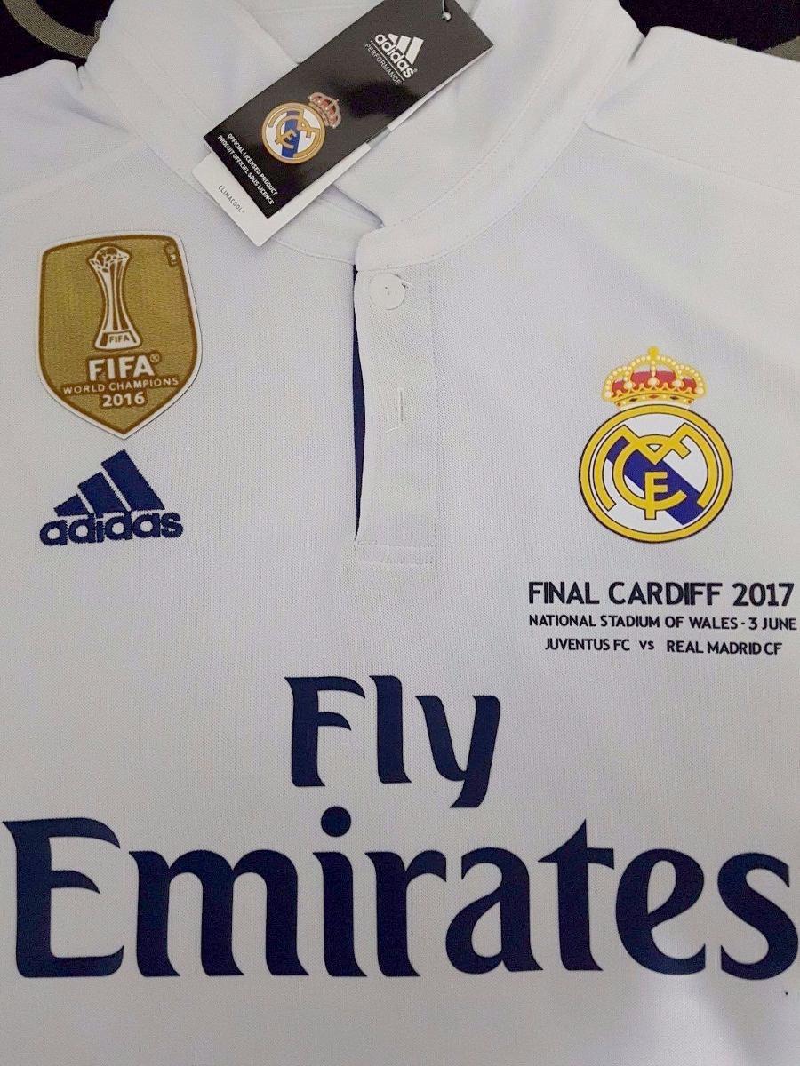 ff8eb70313c11 camiseta real madrid titular 2016 17 champions. Cargando zoom.