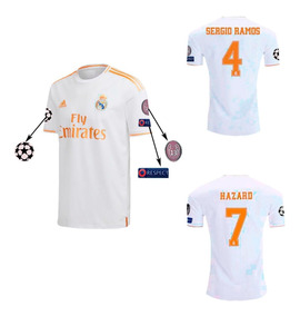 f0a3a5721 Camiseta Real Madrid 2018 - Camisetas de Club internacional Real ...