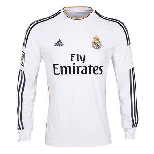 camiseta real madrid manga larga