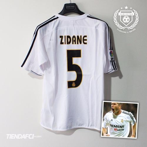 camiseta real madrid zidane retro adidas