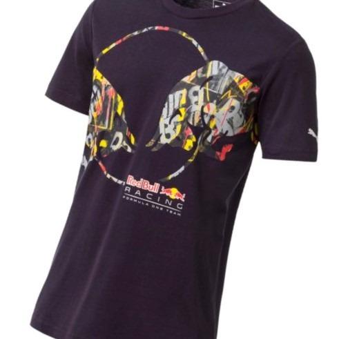 6982b369f8a Camiseta Red Bull Racing Double Bull Marinho Puma - R$ 139,99 em ...
