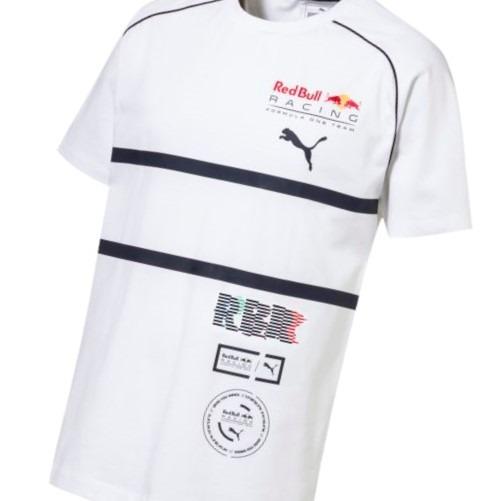 Camiseta Red Bull Speedcat Evo Tee Branca Puma - R  159 9f36c2a03c2