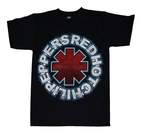 camiseta red hot chili peppers rock activity import talla m