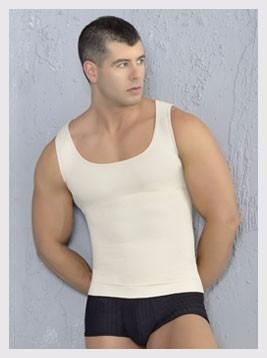 camiseta reductor y corrector de postura para hombre