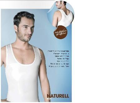 camiseta reductora faja remodela abdomen hombre naturell