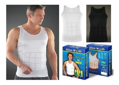 camiseta reductora para hombre  talla s m,l,xl