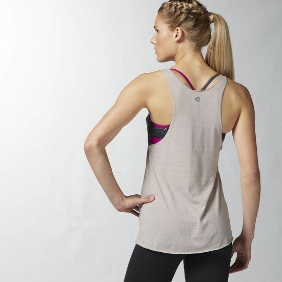 d93ea8264 Camiseta Reebok Crossfit Feminina Cinza (aa1171) - R  204