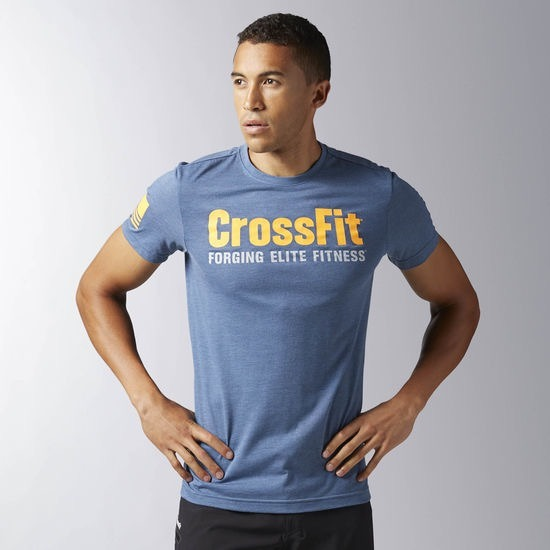 0db7043b0ad Camiseta Reebok Crossfit Forcing Elite Fitness Masculina - R  119
