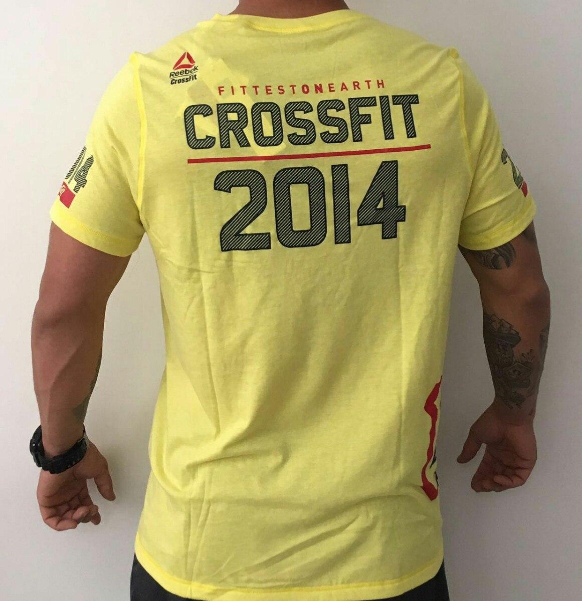 b6c7851c9 camiseta reebok crossfit games 2014 competidor tamanho g. Carregando zoom.