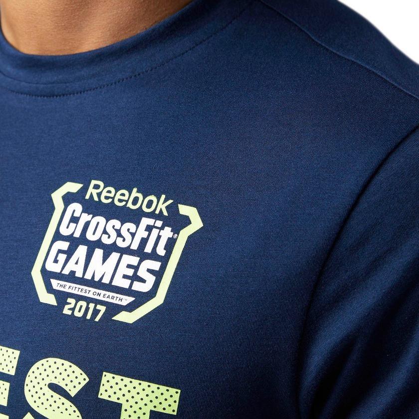 camiseta reebok crossfit games tee 3 masculina. Carregando zoom. 67755fc41b0b