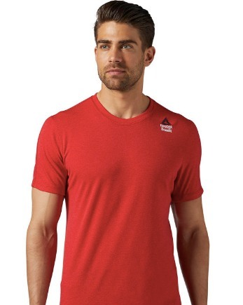 Camiseta Reebok Crossfit Vermelha Masculina Tenho Rogue - R  120 2b81ea7e73ef