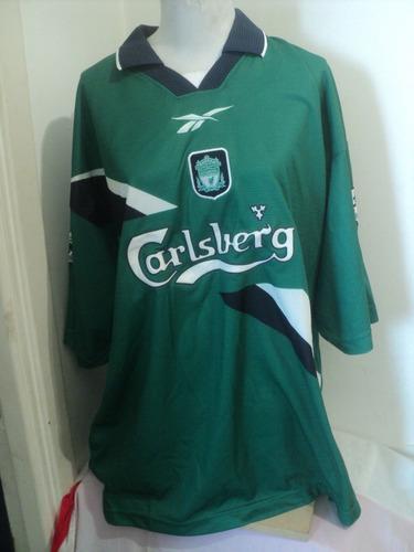 camiseta reebok liverpool nº11 redknapp 1996/97 england uk