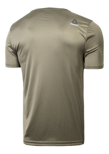 camiseta reebok wor tech graphic