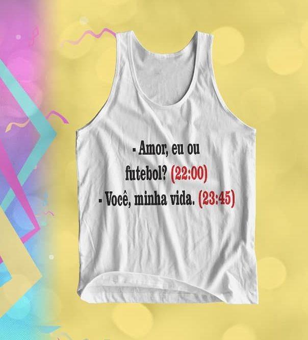 Camiseta Regata 100% Poliester Personalizada Para Carnaval - R  15 ... 0bd67e03d93