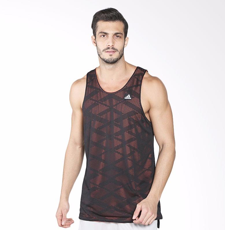 bbb9468de4 Camiseta Regata adidas Basket Reversível 2 Em 1 Dupla Face - R  100 ...