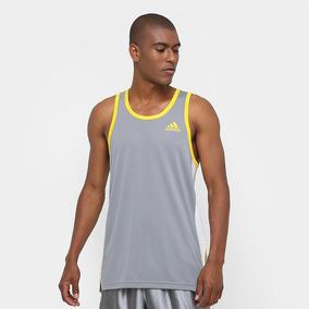 4af85df463 Camiseta Compressao Adidas Amarela no Mercado Livre Brasil