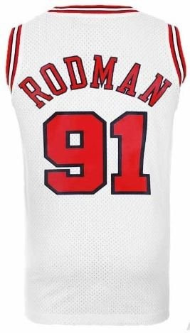 Camiseta Regata adidas Nba Classic Chicago Bulls Rodman 91 - R  169 ... 2e967776c3a