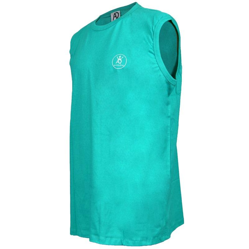 f47146061c camiseta regata antiqueda extra grande target verde. Carregando zoom.
