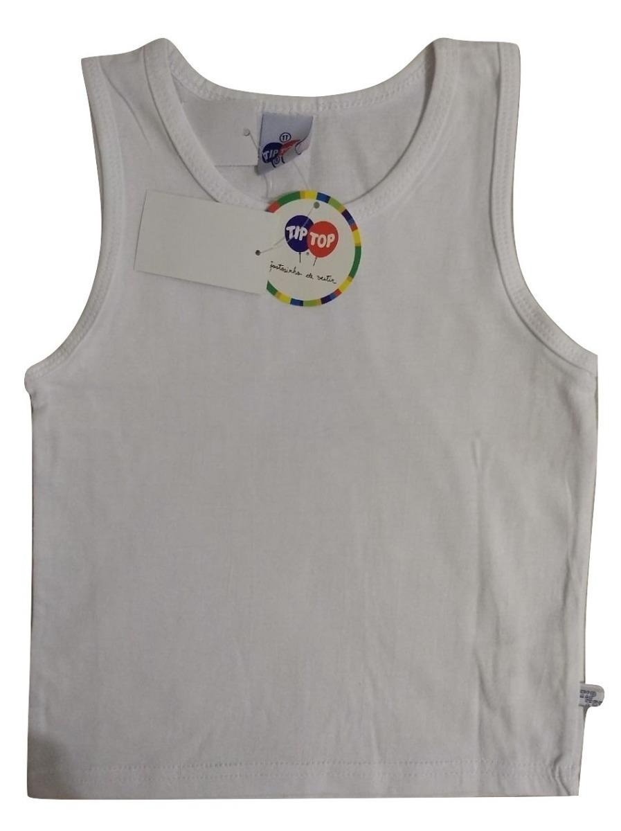 3c2d7b2e8e camiseta regata básica branca infantil menino t. 1. Carregando zoom.