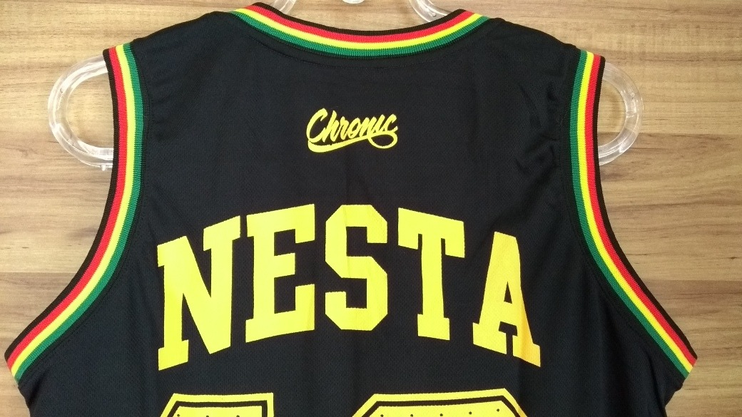 ec3ebf607 Camiseta Regata Basquete Chronic Reggae Roots Jamaica - R  65