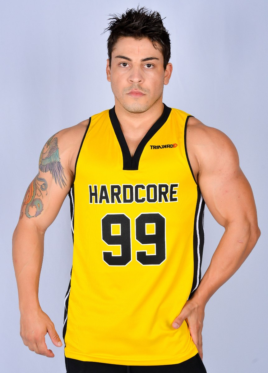 b7a767ede camiseta regata basquete masculina academia treino trinkado. Carregando  zoom.