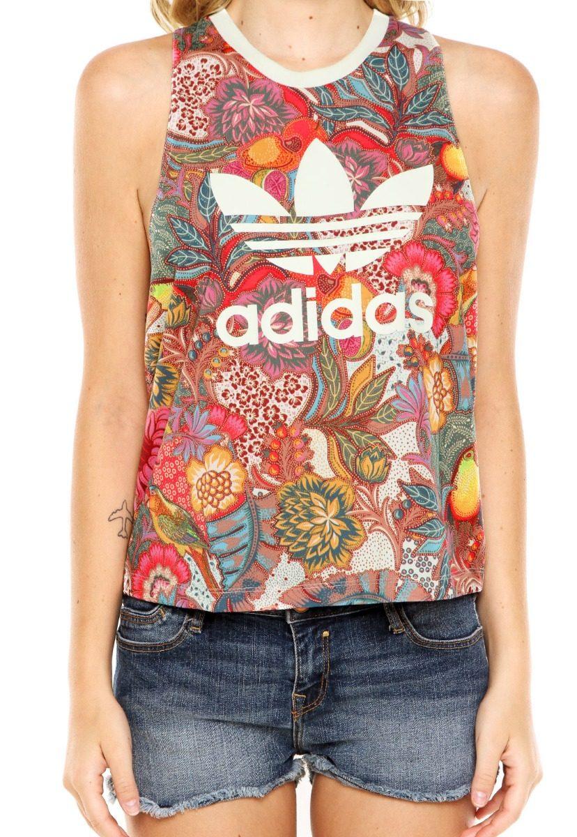 48f876694ad camiseta regata blusa farm adidas fugiprabali original tam m. Carregando  zoom.