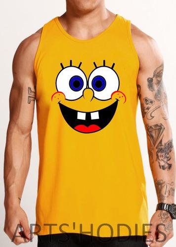 camiseta regata bob esponja - a melhor do mercado!