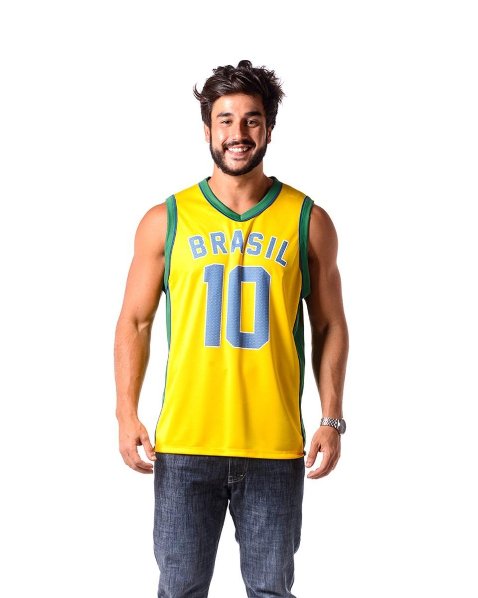 a8b93322c1ad1 camiseta regata brasil. Carregando zoom.