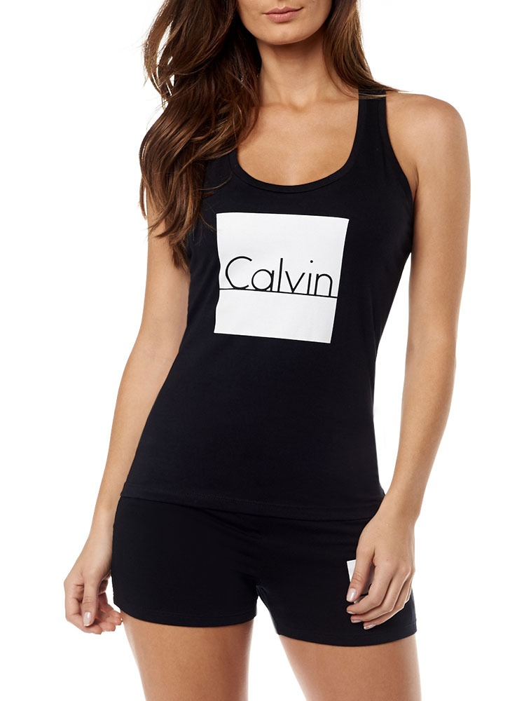3e927d1a6e903 Camiseta Regata Calvin Klein - R  80,00 em Mercado Livre