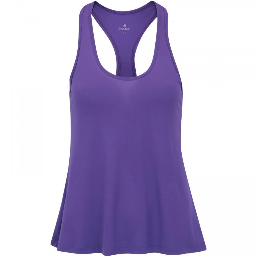 camiseta regata campeão oxer jogging new - roxo cinza. Carregando zoom. b90f9a20732