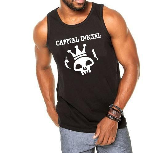camiseta regata capital inicial primeiros erros vevo