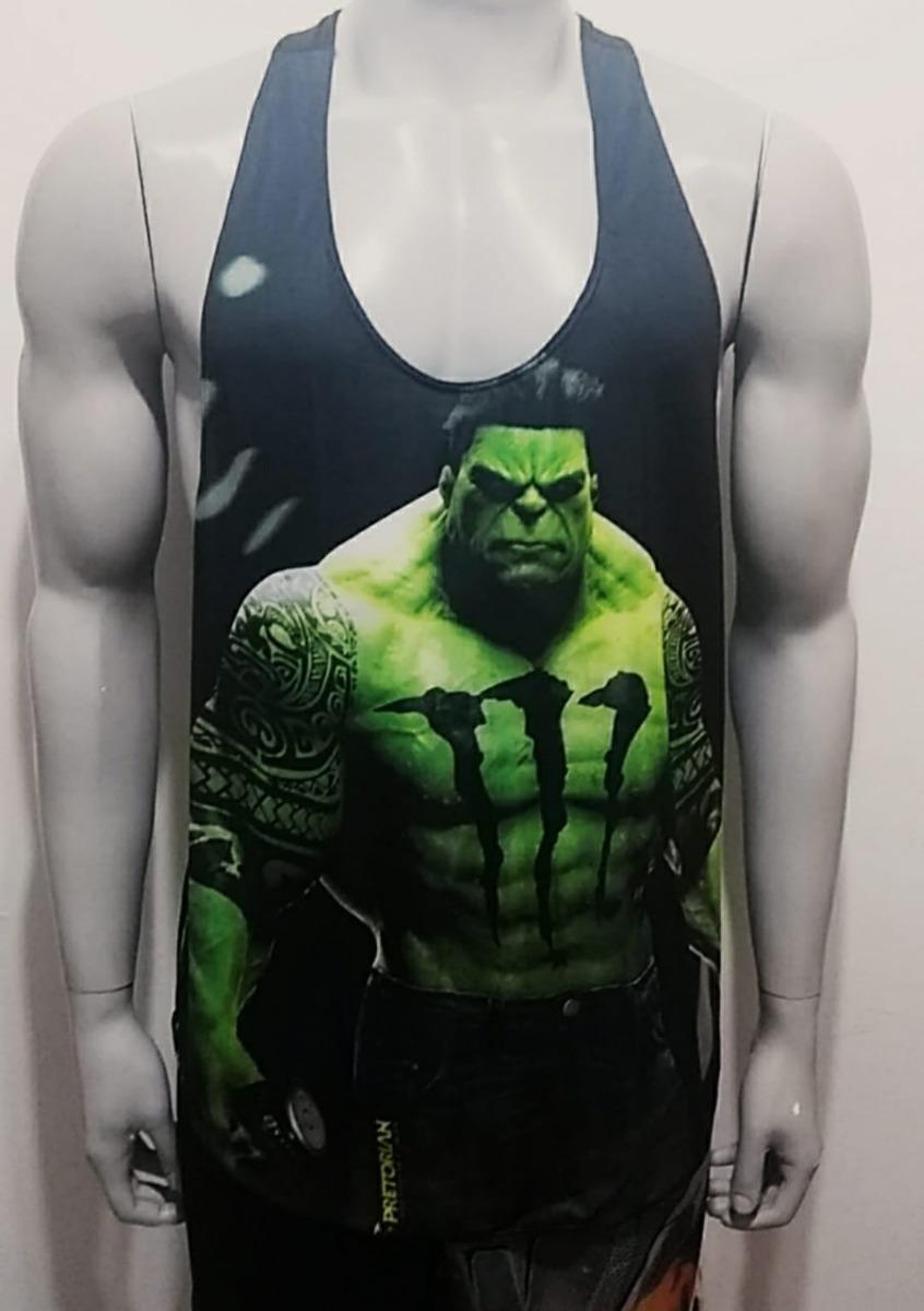 Camiseta Regata Cavada Dry Fit Super-heróis - R  29 1e0dfe0b876