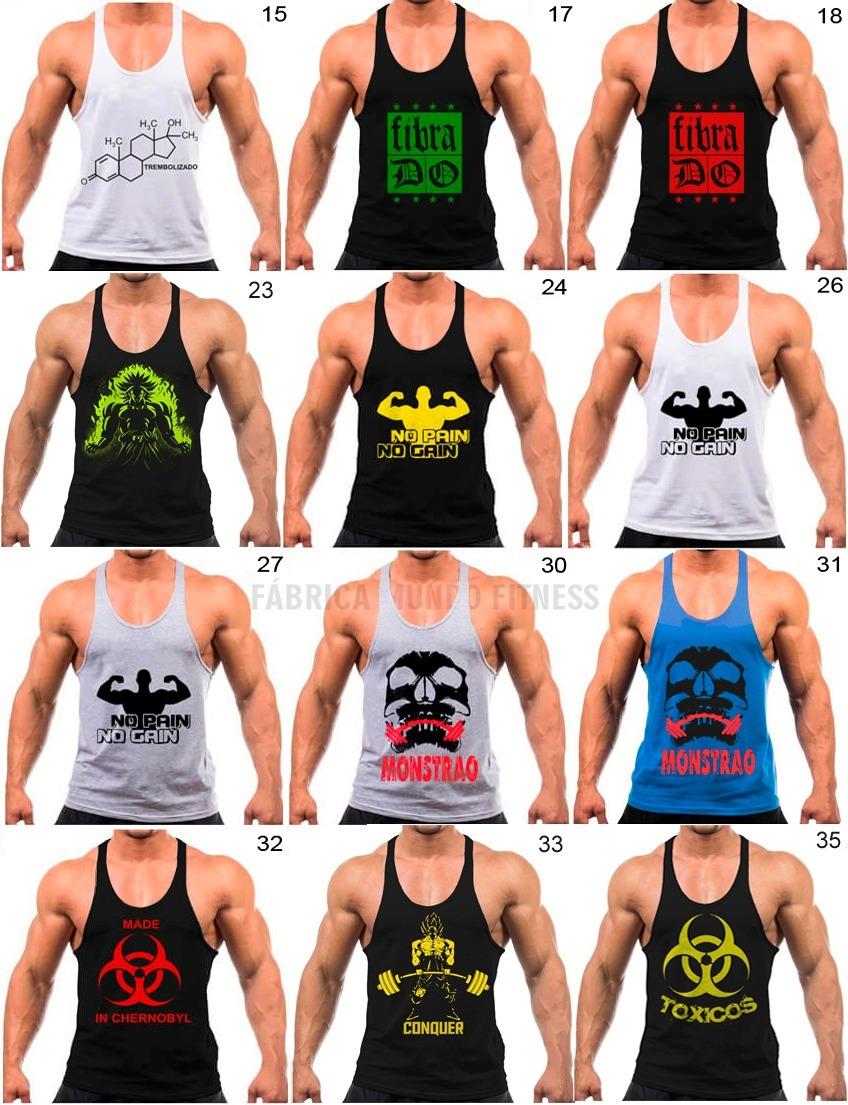 cf7fc5df5 camiseta regata cavada fitness academia treinar musculação. Carregando zoom.