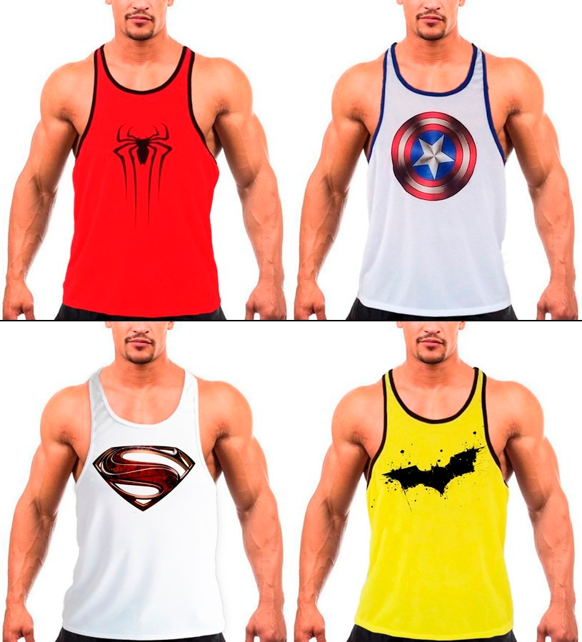 camiseta regata cavada masculina academia musculação fitness. Carregando  zoom. 1cccf63a5ba