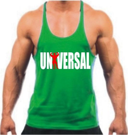 Camiseta Regata Cavada Masculina Universal Academia Fitness - R  29 ... 5b71505a39f