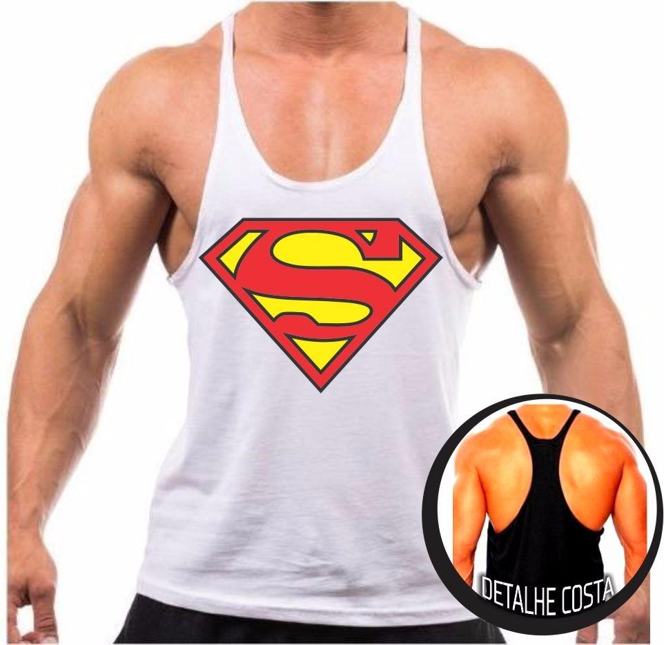 7bc99a0fb camiseta regata cavada superman musculação malhar fitness. Carregando zoom.