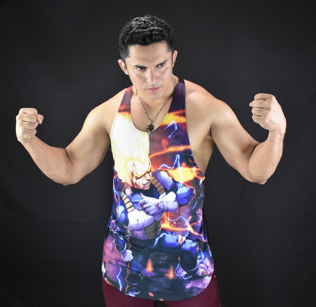 d735566ccccfe camiseta regata cavada vegeta dragonball musculação academia. Carregando  zoom.